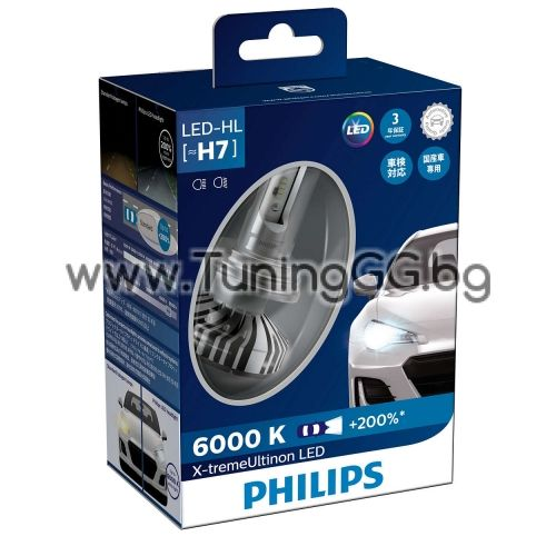 LED Крушки H7 X-treme Ultinon Philips