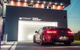 Спойлер багажник BMW 6 series F12, F13, F06, M6 Prior Design