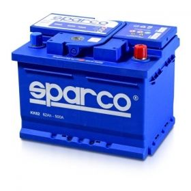 Акумулатор SPARCO 62Ah 500A
