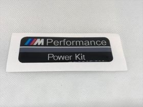 Емблема M Performance Power kit